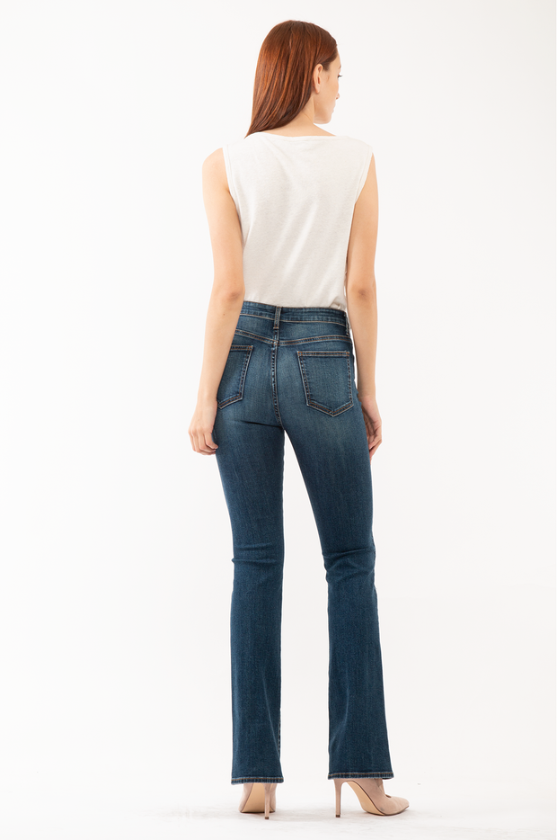 Bianca Boot Flare Jeans in Labor