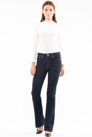 Bianca Boot Flare Jeans in Rinse