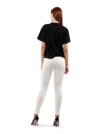 Arianna Skinny Jeans in Cream