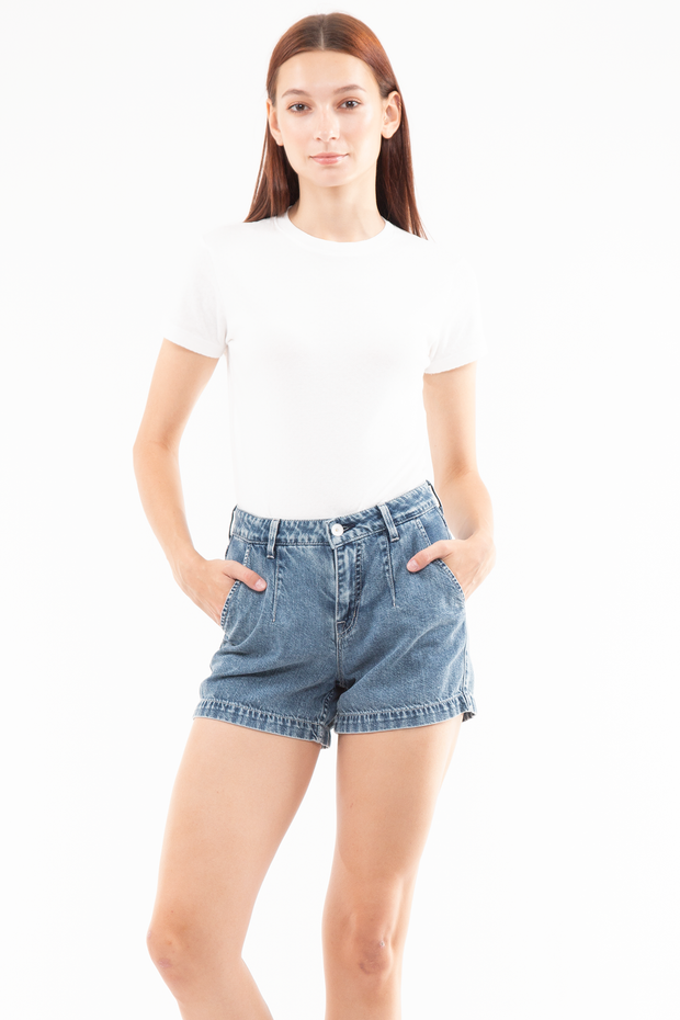 Charlotte Dart Trouser Short in Valley