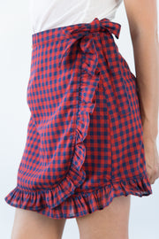 Mia Wrap Skirt in Tea