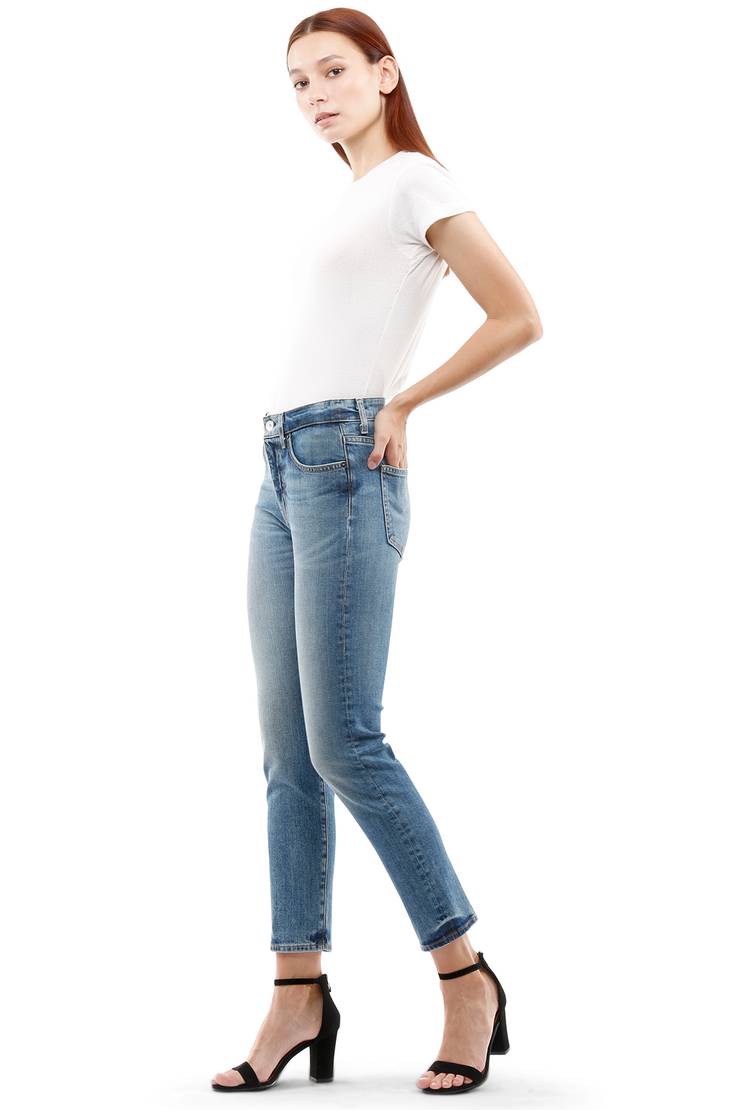 Ally Tapered Jeans in Labor