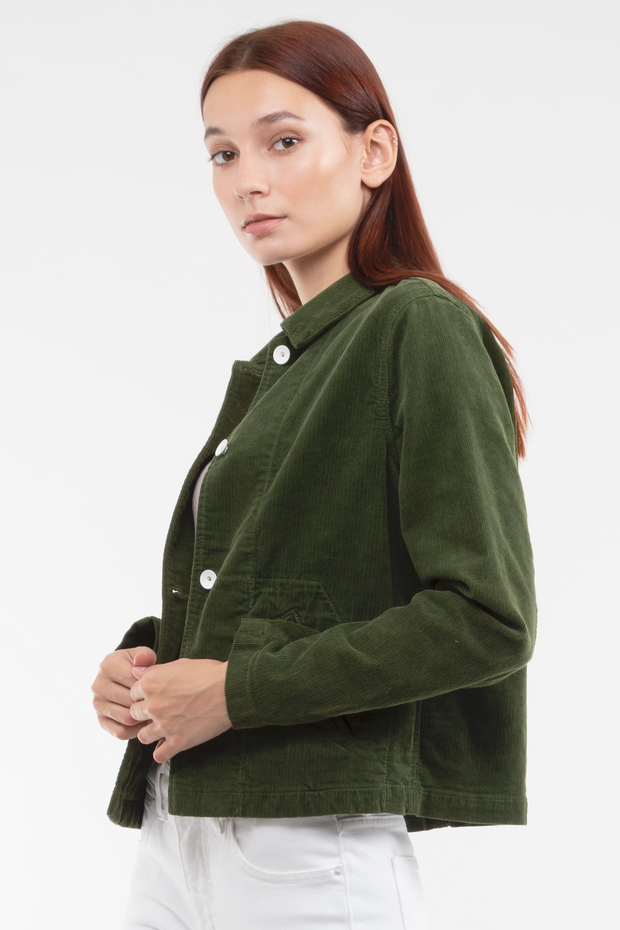 Gwen Welt Pocket Jacket in Tender