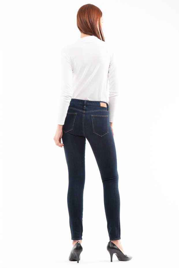 Hanna Mid Rise Skinny in Honey