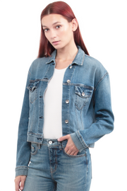 Kathleen Box Crop Jacket in Rise