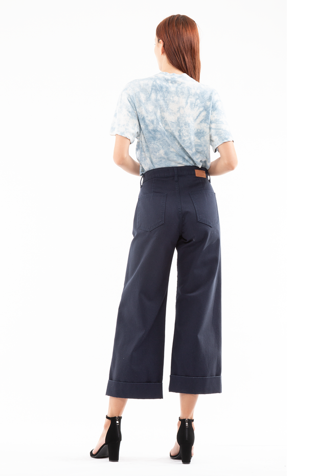 Keaton High Rise Pleated Trouser