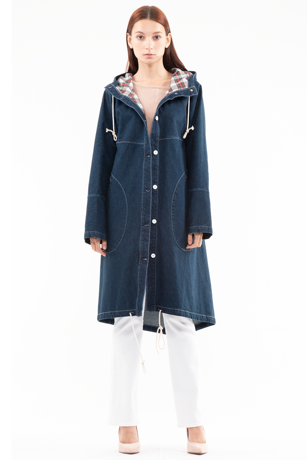 Marcel Sailing Parka in Kindle