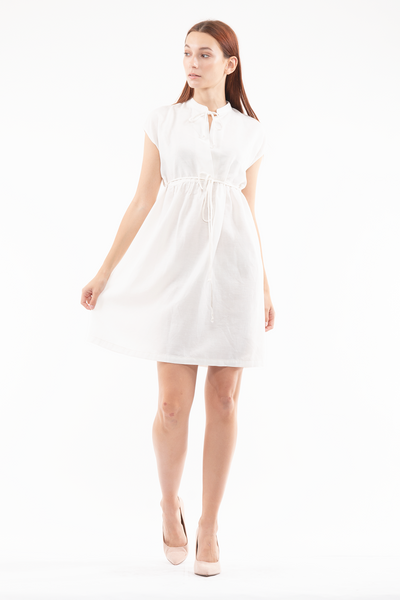 Margo Dress in White