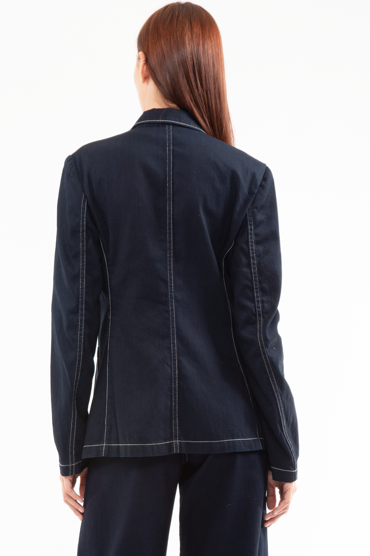 Patti Patch pocket Jacket in Scene