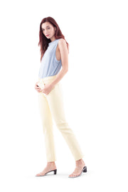 Sofia High Rise Straight Jeans in Sunshine