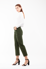 Susie High Rise Wide Leg Crop in Tender