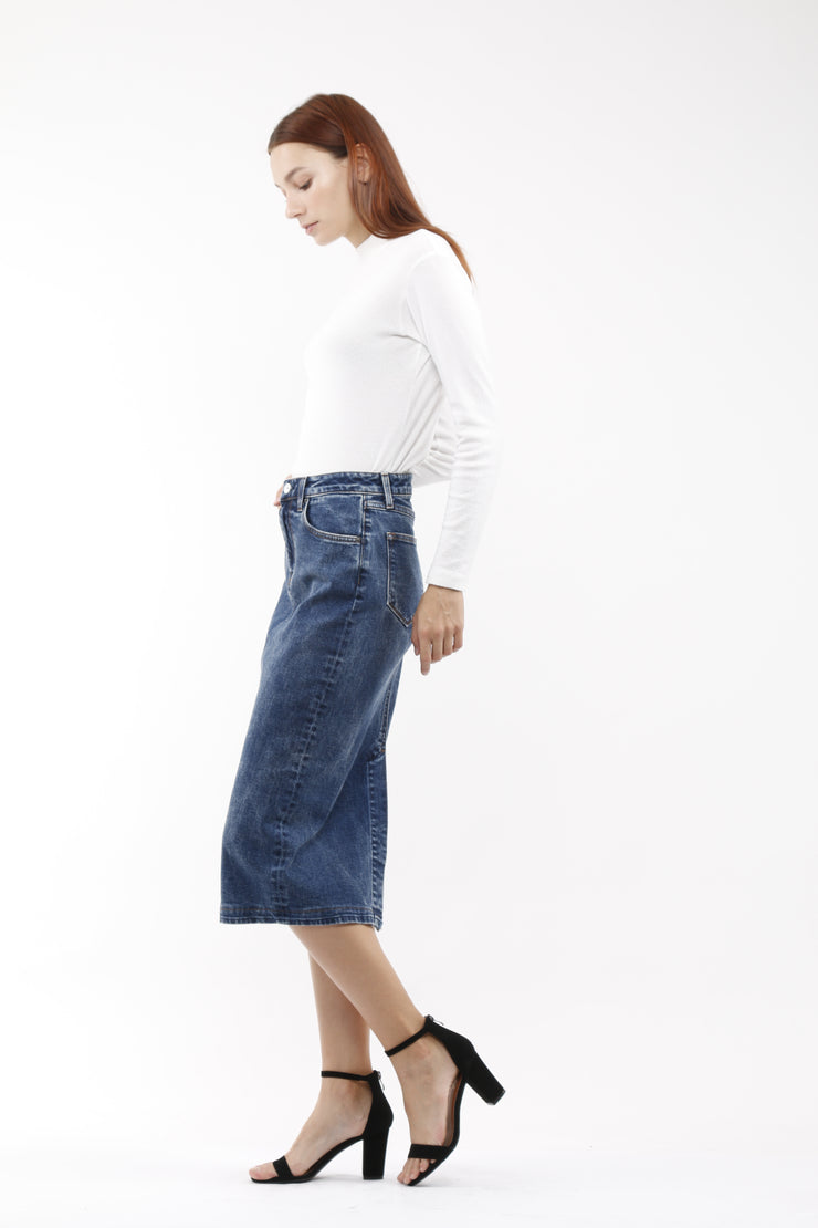 Wilcox High Rise Skirt in Cure