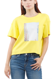 Baily City tee in Citrus