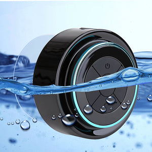 Mini Waterproof Bluetooth Speaker Hands-Free Suction Cup