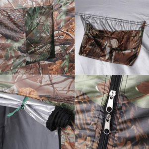 Camouflage Changing Room Tent - Collapsable With Carry Bag