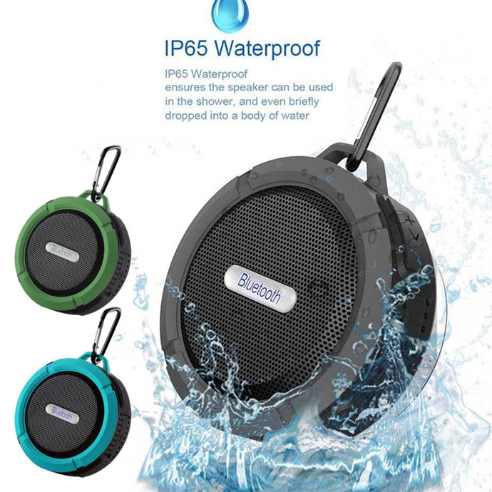 Waterproof Bluetooth Speaker Portable Mini Stereo Handsfree Suction