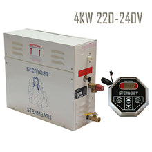4KW 220-240V Steam Bath Generator Best Effective Cost In Total