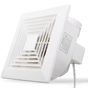 White 32W 220V Ventilation Extractor Exhaust Fan Blower