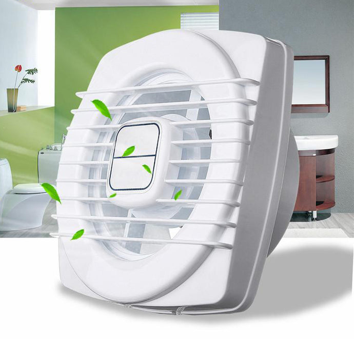 4 Inch 220V 12W White Mini Exhaust Fan