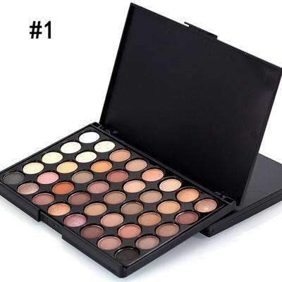 FANGJIE #01 | 40 COLOR KYSHADOW PALETTE | Full Professional Makeup Cosmetics