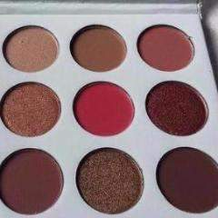 FLOSSY SUNFLOWER  |  PURPLE PALETTE  KYSHADOW  |  9 Color  Eyeshadow Colors