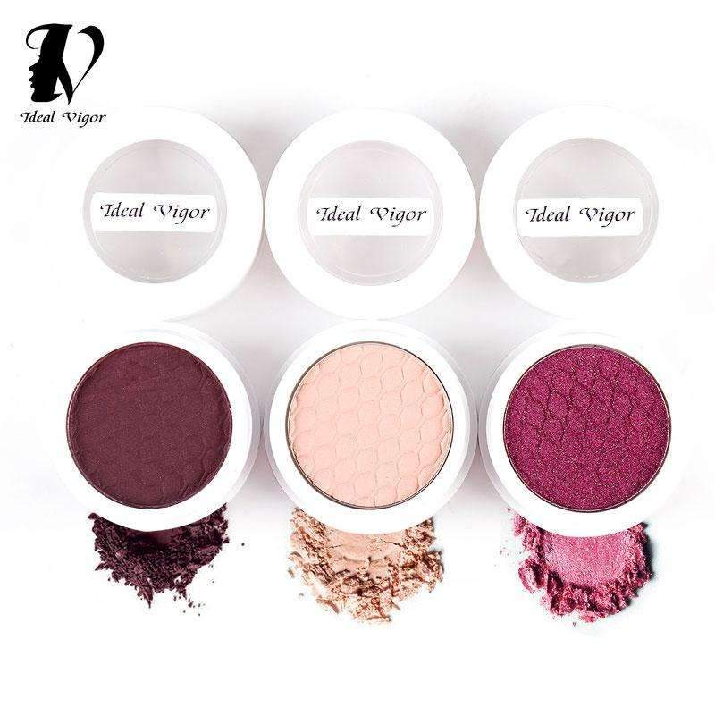 IDEAL VIGOR / DARE #02 | Single Color Eyeshadow  | Cosmetic Blush Eye Shadow, Waterproof