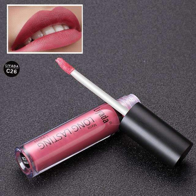 LIYADA METALLIC #C26  | Waterproof Metallic Lip Gloss Liquid Lipstick Moisturiser