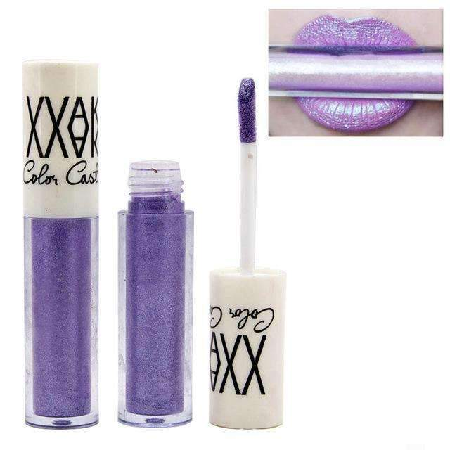 VAKE METALLIC #01 | Waterproof Metallic Lip Gloss Liquid Lipstick Moisturiser
