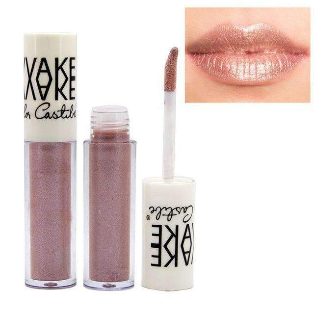 VAKE METALLIC #02 | Waterproof Metallic Lip Gloss Liquid Lipstick Moisturiser