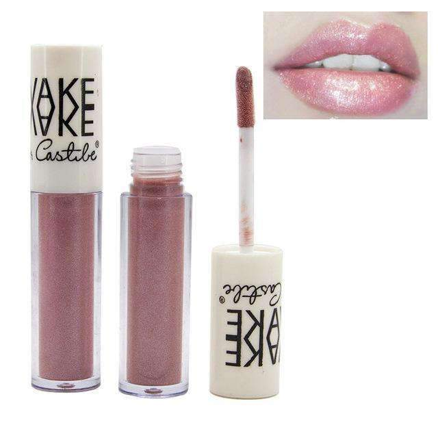 VAKE METALLIC #05 | Waterproof Metallic Lip Gloss Liquid Lipstick Moisturiser