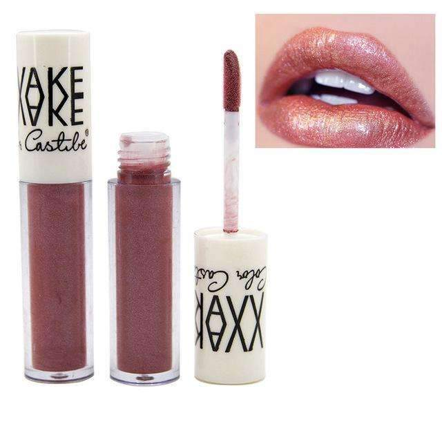 VAKE METALLIC #06 | Waterproof Metallic Lip Gloss Liquid Lipstick Moisturiser
