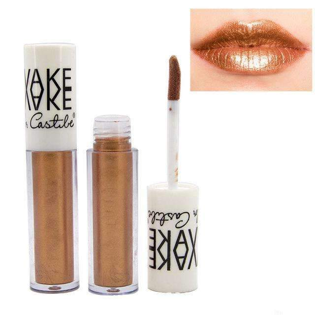 VAKE METALLIC #11 | Waterproof Metallic Lip Gloss Liquid Lipstick Moisturiser