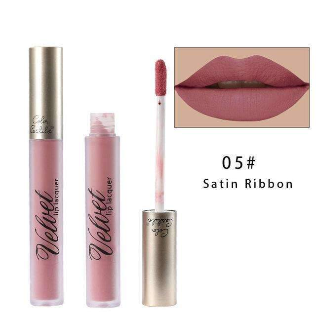 VELVET METALLIC #05 | Waterproof Metallic Matte Lip Gloss Liquid Lipstick Moisturiser