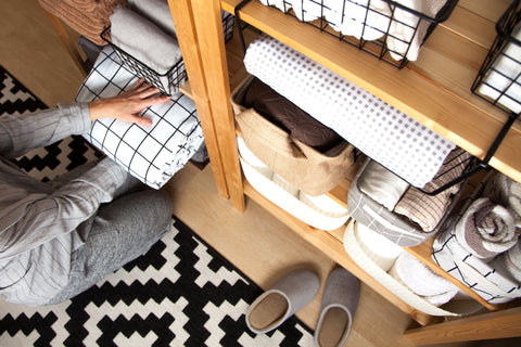 How to store bedding