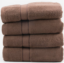 Hotel Sheets Direct - 4 Pack - Ultra Soft Oversized Extra Large Bath Towels 27x54 Linen - 100% Pure Ringspun Cotton - Ideal for Daily Use