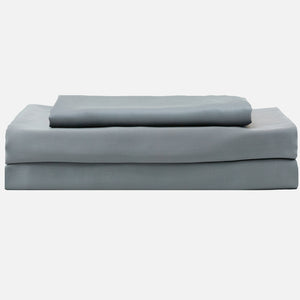 100% Organic Bamboo Bed Sheet Set - Dark Gray