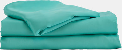 100% Organic Bamboo Bed Sheet Set - Turquoise
