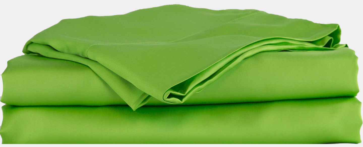 100% Organic Bamboo Bed Sheet Set - Green