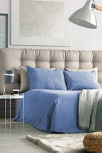100% Organic Bamboo Bed Sheet Set - Light Blue