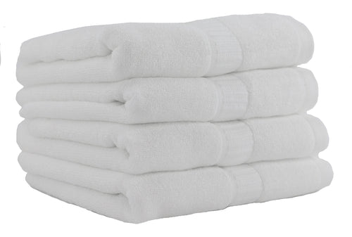 100% Ultra Soft Bamboo Hand Towels - 4 Pack