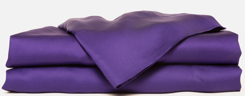 100% Organic Bamboo Bed Sheet Set - Purple