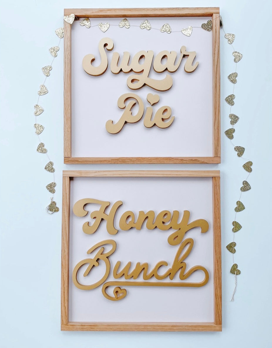 Sugar Pie  - Gold ( Honey Bunch sold separately)