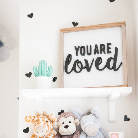 YOU ARE loved- Cut Out