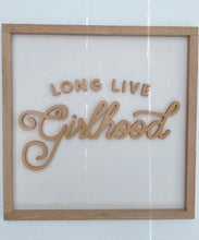 Load image into Gallery viewer, Long Live Girlhood- collab with ThreadMamaStory