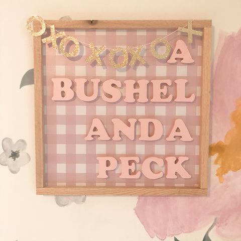 A Bushel and A Peck- Muted  ( I Love You sold separately)