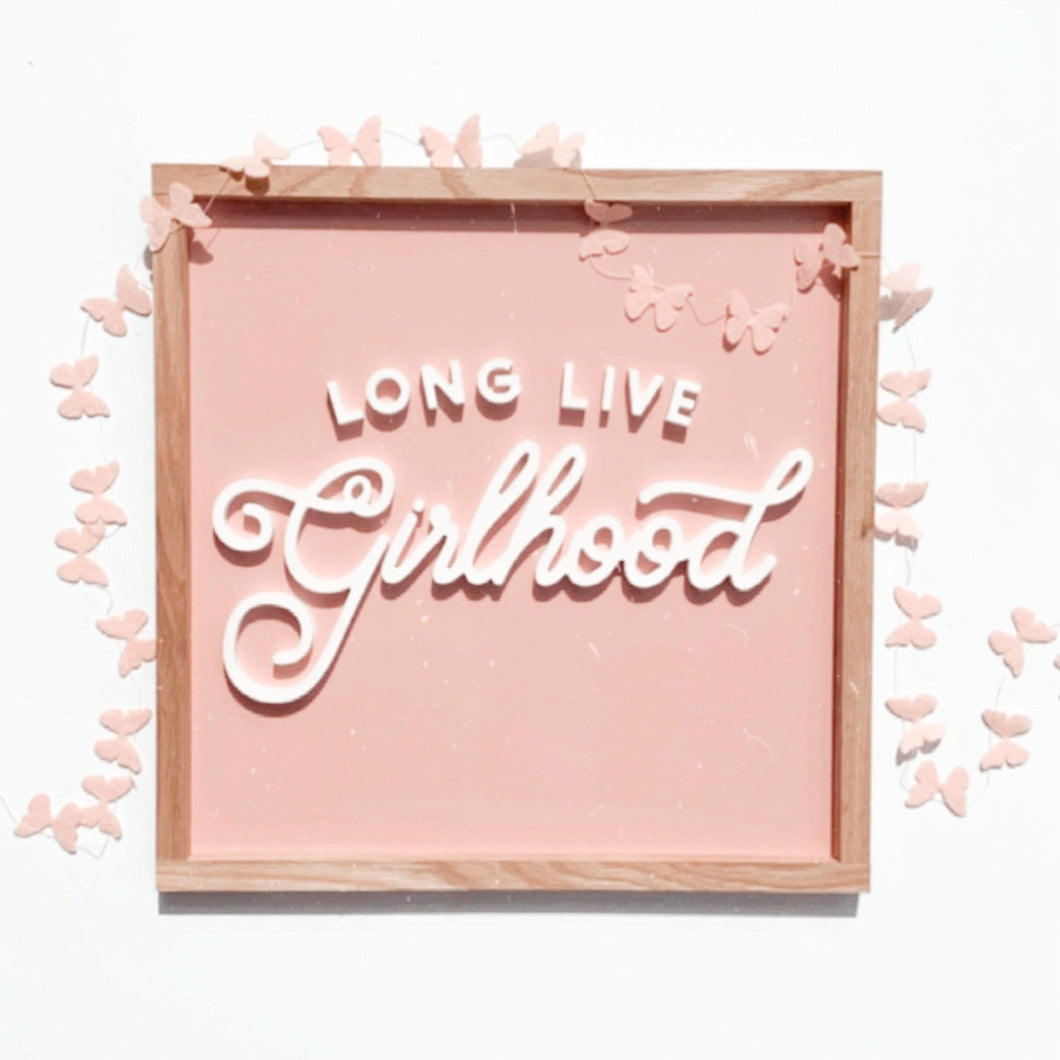 Long Live Girlhood- collab with ThreadMamaStory