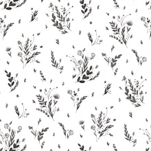 Load image into Gallery viewer, Black & White Floral- designed by Juliet Meeks