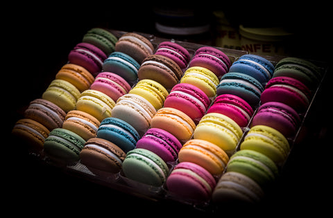 Colorful French Macaroon