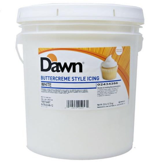 Buttercreme by Dawn Exceptional® White - BakersBodega – Baking & Cake Decorating Supplies SupeStore