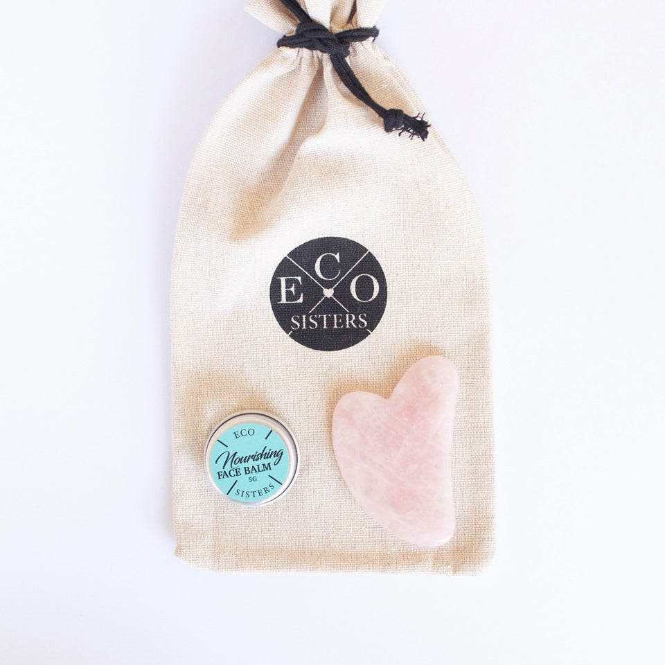 Rose Quartz Gua Sha Pack